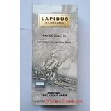 Perfume Lapidus Pour Homme Edt 30ml+ Envio Gratis!!