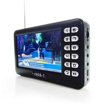 Mini Tv Portatil Digital 4.3 Polegadas C/ Entradas Usb E Sd