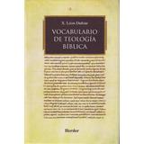 Vocabulario De Teología Bíblica Léon-dufour Editorial Herder