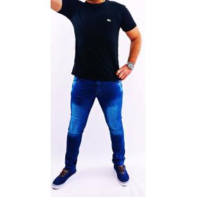 Calça Jeans Masculina Skinny Com Elastano Empório Ricci