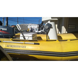 Barco Bote Inflavel Completo C/ Motor 85 Hp Ac Troca