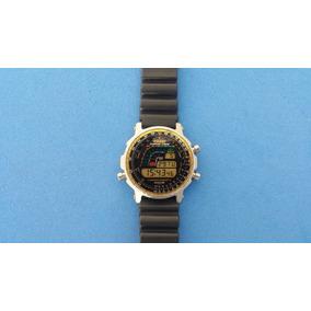 Relógio Casio Dw-4100 Surfing Timer Estado De Novo Japan