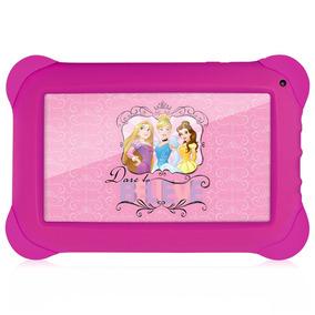 Tablet Multilaser Disney Princesas Nb239 Rosa, Dual Câmera,
