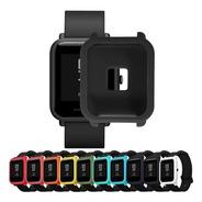 Capa Case Silicone Xiaomi Amazfit Bip Bumper Colorida