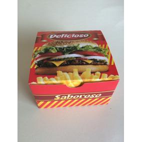 Caixa Para Hambúrguer (100 Unidades ) Hambúrguer Etc.