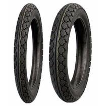 Par Pneu Pirelli 60/100-17 E 80/100-14 Mt-15 Biz 125 100 Pop