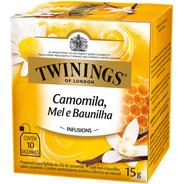 Chá Twinings Camomila Mel E Baunilha 10 Sachês