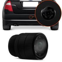 Camera De Re Colorida P/ Para-choque Universal Vw Gol G5