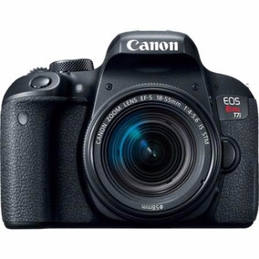 Câmera Canon T7i C/ A 18-55mm C/ Nf-e Pronta Entrega Barato