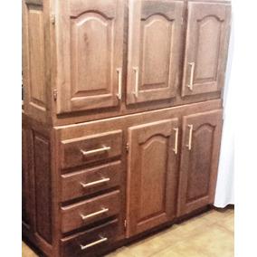 Muebles De Cocina Algarrobo Madera En Bs As G B A