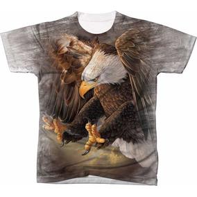Camisa Camiseta Blusa 3d Águia Eagle Usa Estados Unidos 25