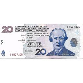 Ec# 206 Bono Argentino 20 Lecop (mb-) Palermo