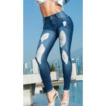 Sexy Jeans Levanta Pompis. Altura Cinturilla. Ajuste Skinny