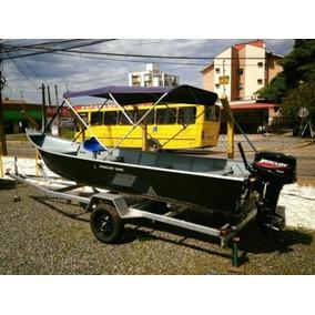 Conjunto Completo 0km 2017 Barco 5 M Motor 15 Hp Carreta Rod