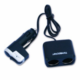 Adaptador 2 Bocas 12v Doble + Entrada Usb Ideal Auto Celular