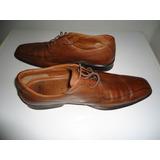Zapato Marrón De Hombre Talla 8 1/2 Uk Marca Clarks