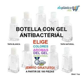 Botellita Rellena De Gel Antibacterial Bautizo Baby Shower