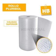 Rollo Plastico Burbujas Polietileno Pluribol 50 Cm X 25 Mts