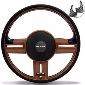 Volante Shutt Rallye Whisky Universal Aplique Preto Carbono