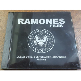 Ramones Live At Obras Sanitarias 10/09/92 Cdr. Bad Religion