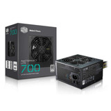 Fuente Pc Cooler Master 700w Masterwatt Lite 80 Plus Atx