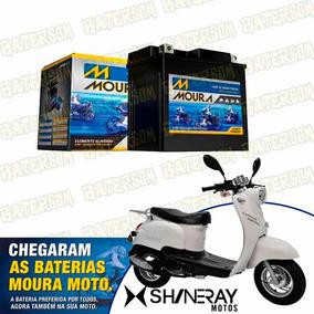 Bateria Moura Moto 3ah Shineray Retro 50cc