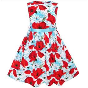 Vestido De Fiesta Para Niñas De 7/8 Años.!! Hermoso