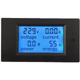 Medidor 4x1 Lcd Tensão Corrente Potência Energia 260v - 20a