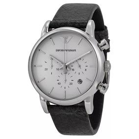 Relógio Iwu1326 Emporio Armani Ar1810 Pulseira Couro Classic