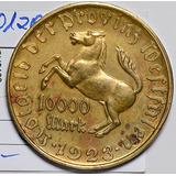 1923 De Bu0103 Alemania Mark Xf ~ Au Notgeld El Que Usted