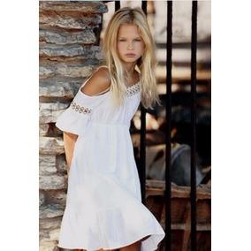 Lindo Vestido Branco Festa Batizado Criança