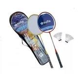 Set Badminton 2 Raquetas + 2 Plumillas - Nuevo Tuttis