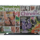 Kit Com 2 Revistas Chinelos Decorados