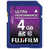 Fujifilm 4 Gb Sdhc Class 10 Flash Memory Card