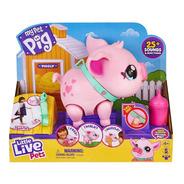 Juguete Cerdito Interactivo My Pet Pig Little Live Pets
