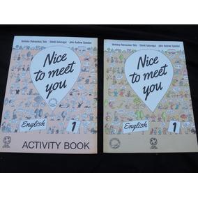 Nice To Meet You Ensino De Inglês 8 Livros Editora Atual