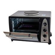 Horno Electrico Winco 36 Lts Con Anafe Grill 1600w