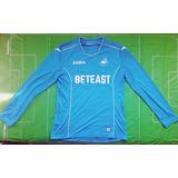Camiseta Swansea City Gales Arquero Joma Nueva Ml