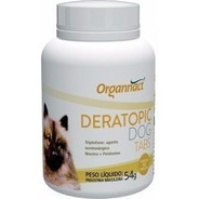 Deratopic Dog Tabs 54 G Organnact Pet Shop Store