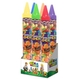 Crayola Kids Work 105pc Blocks In 45 Giant Crayon Tube