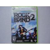 Rockband 2 Original Para Xbox 360 Envío Incluído