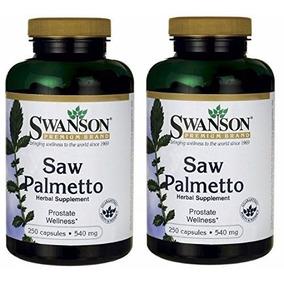 Saw Palmetto 540 Mg By Swanson Premium (250x2) 2 Pack