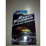 Carro A Escala Hotwheels Dodge Charger Rt Rapido Y Furioso
