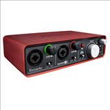 Focusrite Scarlett 2i2 Usb Interfaz De Audio Usb