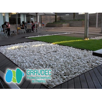 25kg Piedras Decorativas De Mármol Blanco Piedra De Río