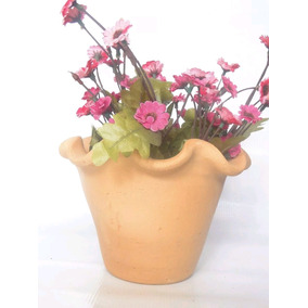 Vasos Cerâmica Crua Parede Jardim Orquídea Flores Plantas