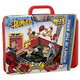 Wwe Rumblers Rojo Lucha Por El Dinero Money Bank The Miz