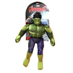 Muñeco Soft Hulk Con Sonido Licencia Marvel New Toys