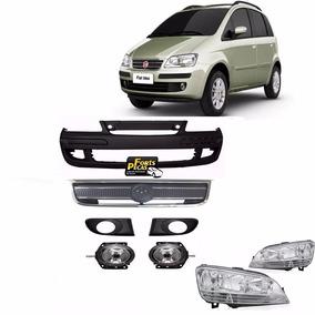 Kit Parachoque Fiat Idea 2006 2007 2008 2009 2010 - Novo