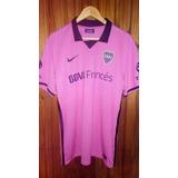 Camiseta Boca Rosa Suplente 2013 (c/ Etiquetas)